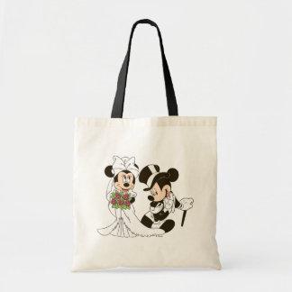 Mickey & Minnie Wedding   Getting Married Tote Bag