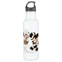 Mickey & Minnie Wedding | Getting Married Water Bottle