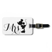 Mickey & Minnie Wedding | Mrs. Silhouette Bag Tag