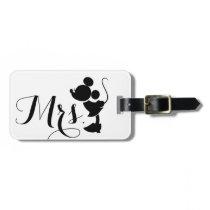 Mickey & Minnie Wedding   Silhouette Bag Tag