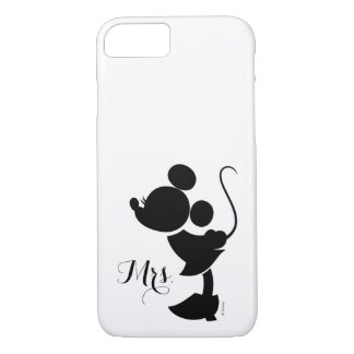 Mickey & Minnie Wedding | Silhouette iPhone 8/7 Case