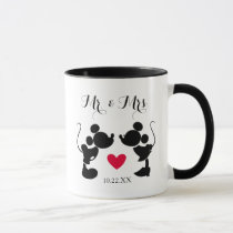 Mickey & Minnie Wedding | Silhouette Mug