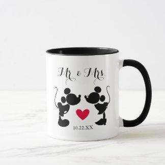 Mickey & Minnie Wedding | Silhouette Mug