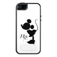 Mickey & Minnie Wedding | Silhouette OtterBox iPhone 5/5s/SE Case