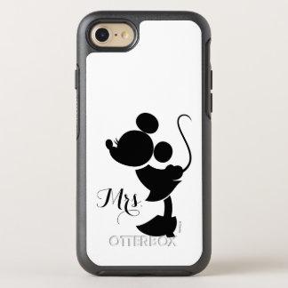 Mickey & Minnie Wedding | Silhouette OtterBox Symmetry iPhone 7 Case