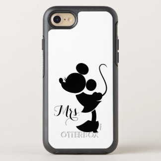 Mickey & Minnie Wedding | Silhouette OtterBox Symmetry iPhone 8/7 Case