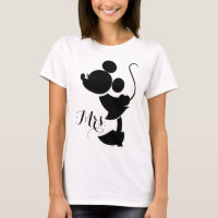 Mickey & Minnie Wedding | Silhouette T-Shirt