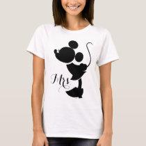 Mickey & Minnie Wedding | Silhouette T-Shirt