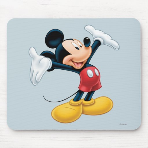 Mickey moderno el | Airbrushed Mouse Pad