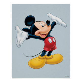 Mickey moderno el | Airbrushed Póster