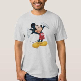 Mickey moderno el | arma hacia fuera playera