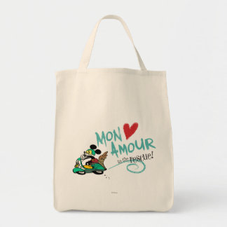 Mickey - Mon Amour Grocery Tote Bag