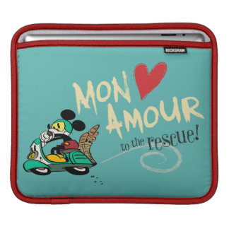 Mickey - Mon Amour Sleeve For iPads