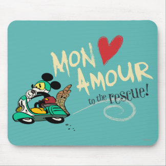 Mickey - Mon Amour Mouse Pad