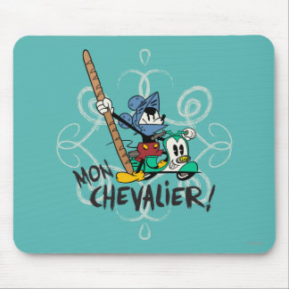 Mickey - Mon Chevalier! Mouse Pad