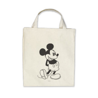 Mickey Mouse 10 Canvas Bag