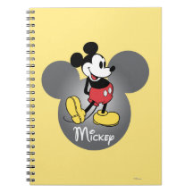 Mickey Mouse 12 Note Books