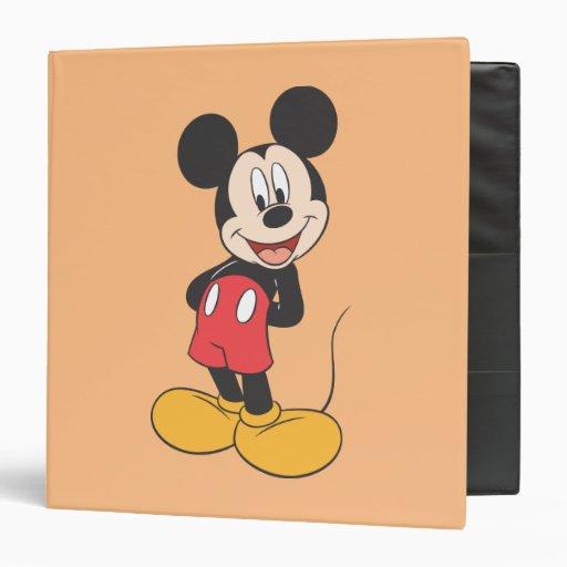 Mickey Mouse 15 Vinyl Binders