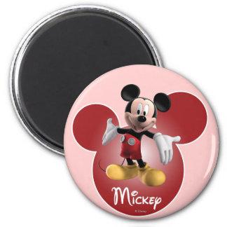 Mickey Mouse 18 Imán Redondo 5 Cm