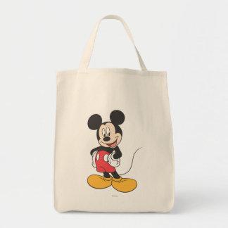 Mickey Mouse 1 Bolsa Tela Para La Compra
