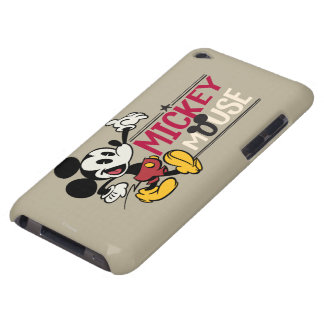 Mickey Mouse 1 Cubierta Para iPod De Barely There