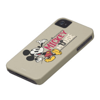 Mickey Mouse 1 iPhone 4 Funda