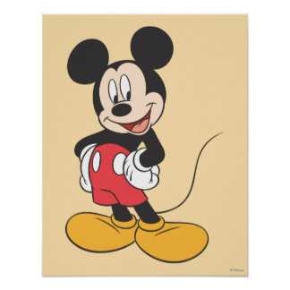 Mickey Mouse 1 Póster