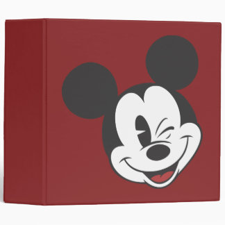 Mickey Mouse 2 3 Ring Binder