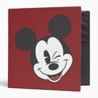 """Mickey Mouse 2 Carpeta 1 1/2"""""""