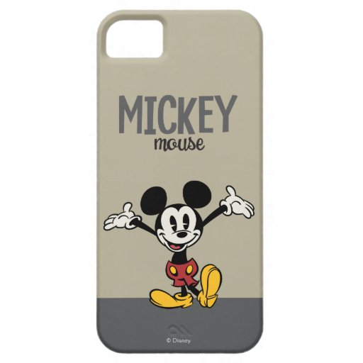 Mickey Mouse 2 iPhone 5 Case-Mate Carcasa