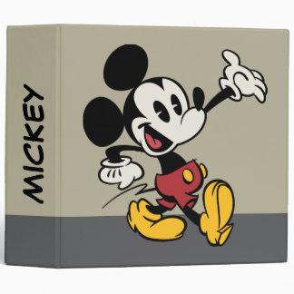 Mickey Mouse 3 Binder