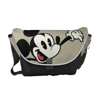 Mickey Mouse 3 Bolsas De Mensajería