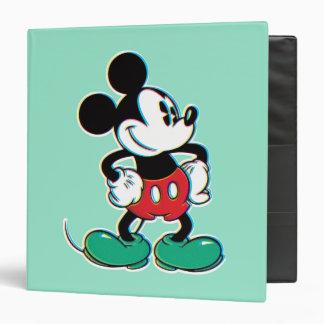 """Mickey Mouse 3 Carpeta 1 1/2"""""""