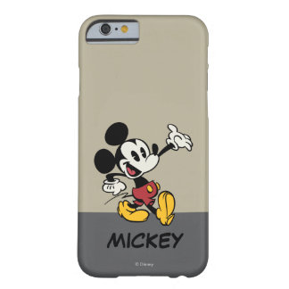 Mickey Mouse 3 Funda De iPhone 6 Barely There