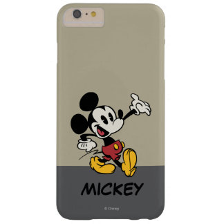 Mickey Mouse 3 Funda Para iPhone 6 Plus Barely There