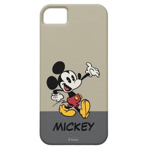 Mickey Mouse 3 iPhone 5 Case-Mate Cobertura