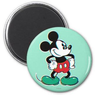 Mickey Mouse 3 Imán Redondo 5 Cm
