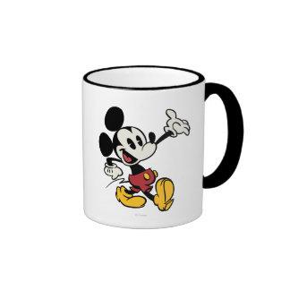 Mickey Mouse 3 Ringer Coffee Mug