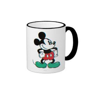 Mickey Mouse 3 Taza A Dos Colores