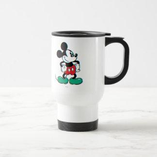 Mickey Mouse 3 Taza De Viaje De Acero Inoxidable