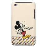 Mickey Mouse 4 Barely There iPod Cover