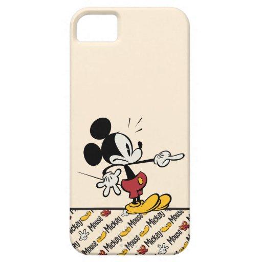 Mickey Mouse 4 iPhone 5 Case-Mate Cárcasa