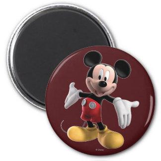 Mickey Mouse 4 Imanes De Nevera