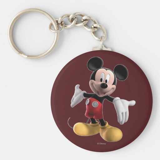 Mickey Mouse 4 Keychains