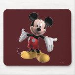 Mickey Mouse 4 Tapetes De Ratón