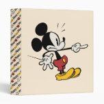 Mickey Mouse 4 Vinyl Binders