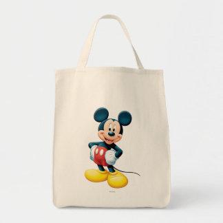 Mickey Mouse 6 Bolsa Tela Para La Compra