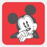 Mickey Mouse 7 Colcomanias Cuadradass