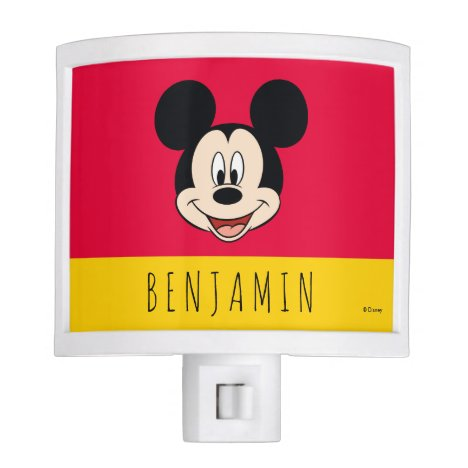 Mickey Mouse - Add Your Name Night Light