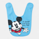 Mickey Mouse | Always Look Up To You Baby Bib